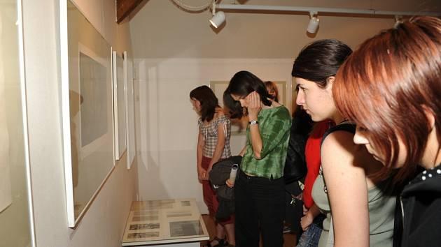 Galerii zaplnila stovka grafik