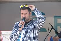 Český rozhlas Region vysílal z Českého Brodu, přivezl také spoustu zajímavých atrakcí