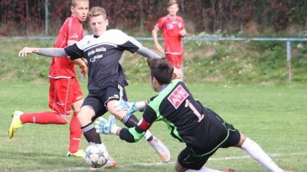 Z utkání FK Kolín U16 - Ústí nad Labem (1:2).