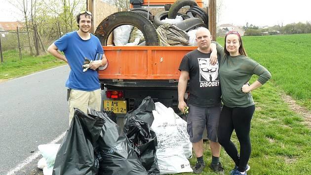 Na uklízení Kolína a okolí se podílejí dobrovolníci.
