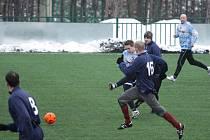 Z utkání na zimním turnaji Tuchoraz - Sázava.