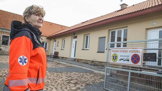 Výjezdové centrum záchranné služby v Kostelci nad Černými lesy se v úterý 18. února otevřelo v nových prostorách.