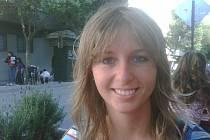 Tereza Bělková v jedné z chilských restauracích