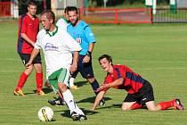 Z utkání Radim - Bílé Podolí (0:2).