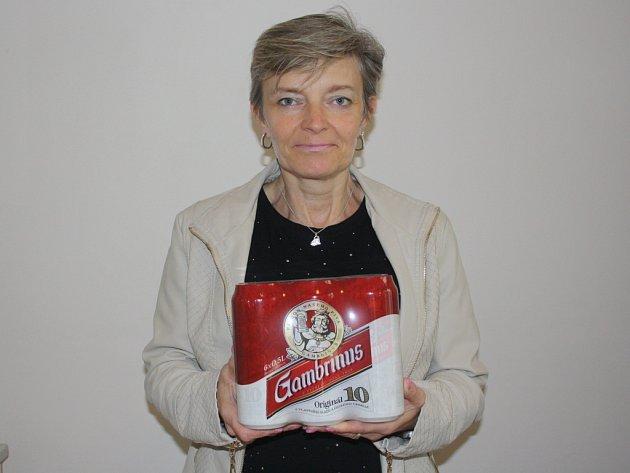 Čtvrté kolo vyhrála Jana Pachlová z Peček. Jako cenu získala karton piv značky Gambrinus.