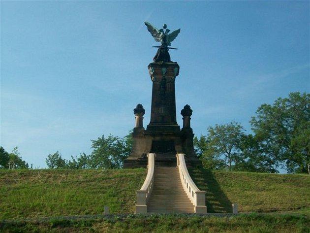 Památník bitvy u Kolína na Křečhoři.