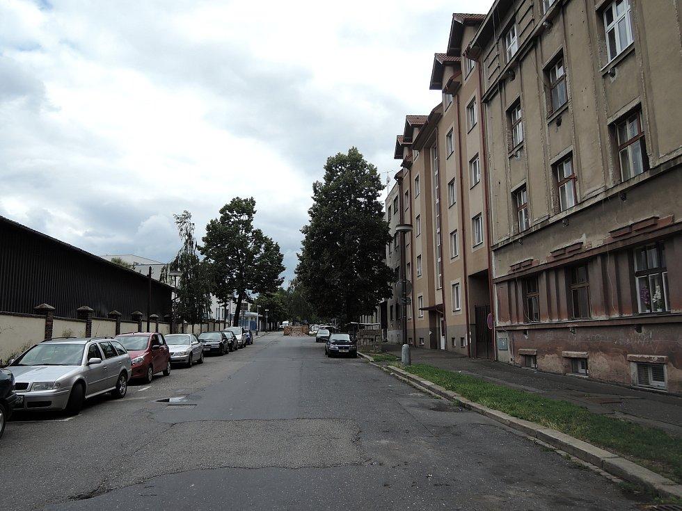 Zengrova ulice, Kolín.