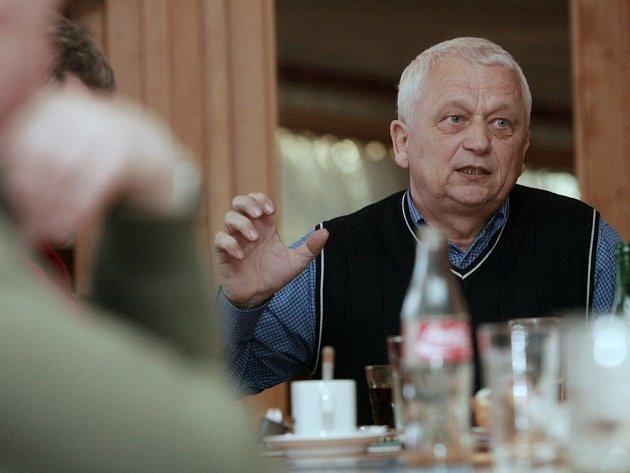 Šéf kolínských fotbalistů Zdeněk Hervert.
