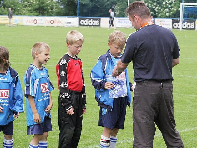 Přípravka AFK Pečky skončila v krajském finále pátá.