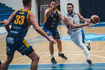 Z utkání 3. kola NBL BC Kolín - Opava (93:80).