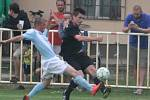 Z utkání Býchory - Břežany II (6:0).