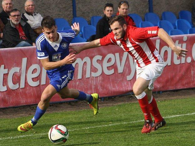 Z utkání FK Kolín - Jirny (0:1).