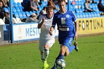 Z utkání FK Kolín - Trutnov (6:0).