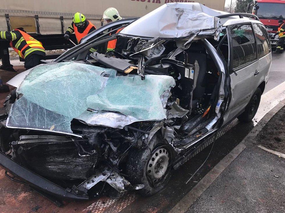 Tragická nehoda v Olešce.