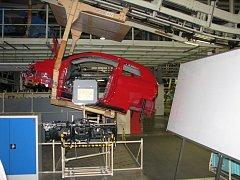 Výroba v automobilce TPCA