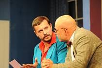 Hned dvakrát na konci května se kolínským divadelním fanouškům představil soubor Městského divadla Brno s komedií Dvojitá rezervace.