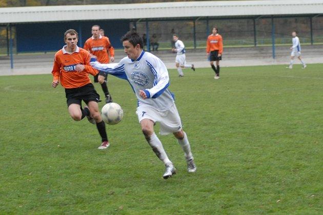 Snímek je z utkání FK Kolín B - Český Brod B.