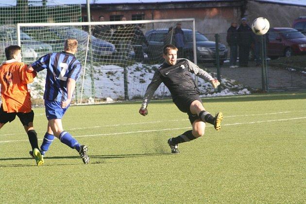Z utkání FK Kolín B - Konárovice (7:1).