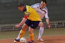 Z utkání SKP Kolín - Arsenal Benešov (7:3).