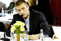 Opoziční zastupitel Lubomír Nymburský (ČSSD).