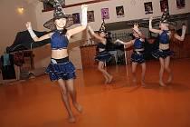 Taneční studio Crossdance předvedlo své sestavy.