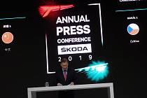 Tisková konference společnosti Škoda Auto.