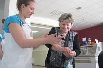 Světový den hygieny rukou v Oblastní nemocnici Kolín