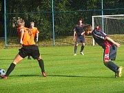 Z utkání FK Kolín B - Jestřabí Lhota
