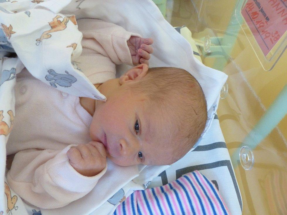 Anna Černá se narodila 14. října 2019 v kolínské porodnici, vážila 3295 g a měřila 51 cm. V Kolíně se z ní těší maminka Lucie a tatínek Martin.