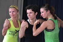 Den plný fitness v Pečkách