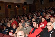 V Kině 99 se promítal hodinový dokument režiséra Johana Kolínského pojmenovaný Spolu jsme silnější, který pod klubovým heslem mapuje historii nejstaršího fotbalového klubu - Slávie, jeho začátky, pády i vrcholy
