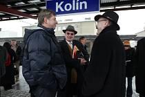 Návštěva ministra dopravy v rekonstruovaném železničním uzlu Kolín