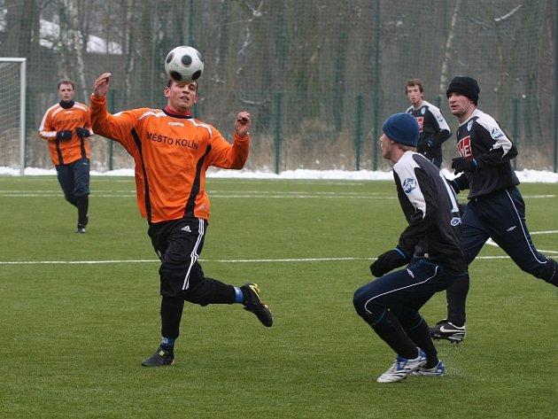 Z přípravného utkání FK Kolín - Čáslav B (2:1).