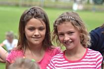 Děti si užily soutěže i tancování