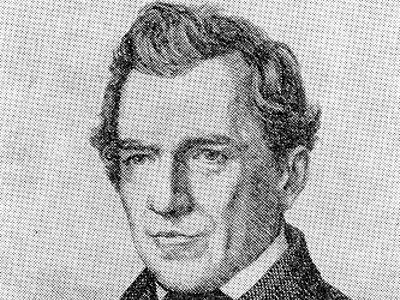 František Josef Beneš na rytině podle portrétní kresby J. S. v časopise Světozor 1871.