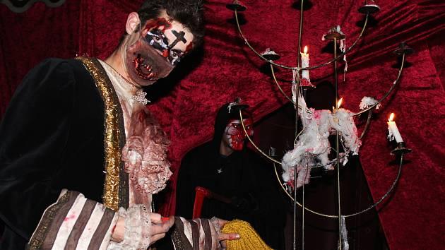 Lekavé scény, křik, hudba i  smích. To vše a mnohem více je horor cirkus Ohana. První hororové šapitó v České republice.