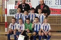 Mladší přpravka Kolína na halovém turnaji Copa Junior