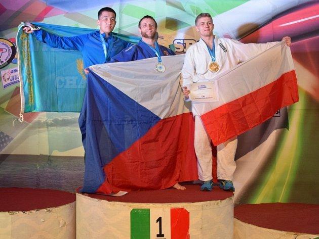 Martin Heller se v Itálii stal mistrem světa.
