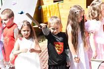 Ze šerpování předškoláků v Mateřské škole Pohádka v Kolíně.