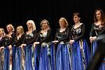 Z tanečního večera skupiny Gina Bellydance Studio v sále Na Zámecké v Kolíně.