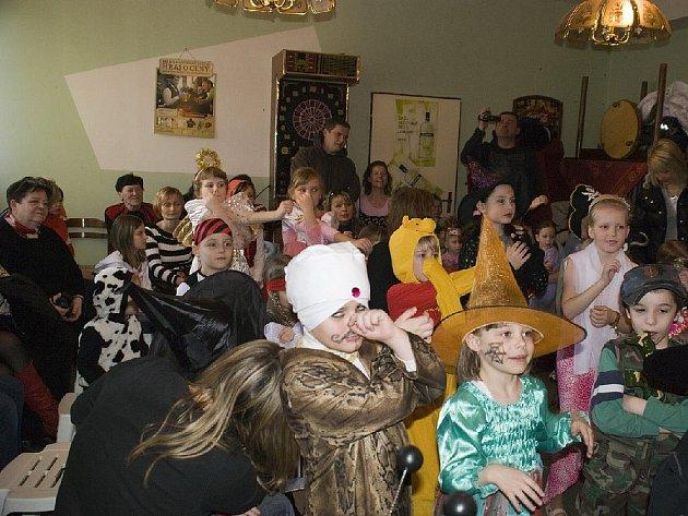 Dětský karneval v Polepech