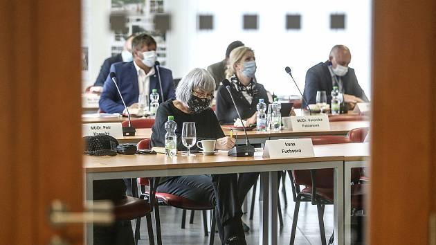Jednání kolínského zastupitelstva v budově podnikatelského inkubátoru - CEROP. Archivní foto.