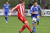 Z utkání FK Kolín - Zápy (1:3).