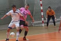 Z utkání SKP Kolín - Malibu Mladá Boleslav (11:9).