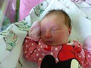 Sabina Javorská se narodila 6.11.2018 s mírami 3185 g a 48 cm. V Žehuni se na ni těší sestřička Nikolka (3) a rodiče Lenka a Petr.