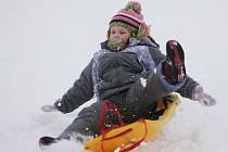 V Polepech se konala zimní olympiáda.