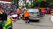 Středočeská záchranka se opět zúčastnila Dne záchranářů v Kolíně