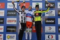Jakub Schierl prokázal svůj talent a na blátivé trati v Mladé Boleslavi dojel na mistrovství republiky mezi kadety na prvním místě.