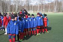 Mladí kolínští fotbalisté obsadili konečné šesté místo.