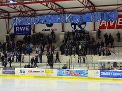 Při utkání Kolín - Děčín (6:2) se vzpomínalo na zesnulého Rudolfa Musílka.